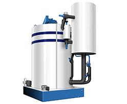 Flake-Ice-Evaporators